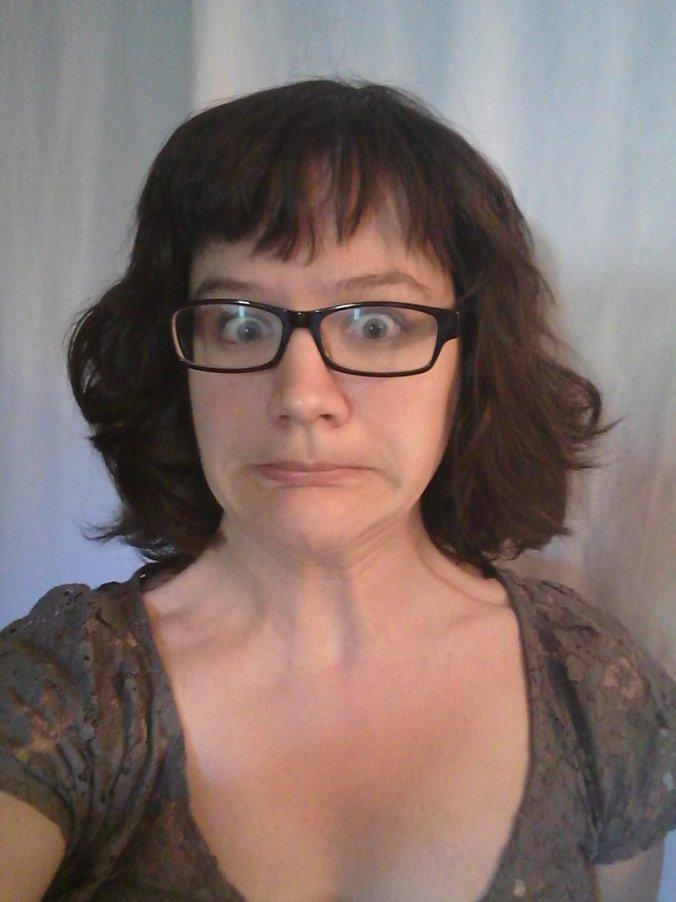 after devacut poofy hair