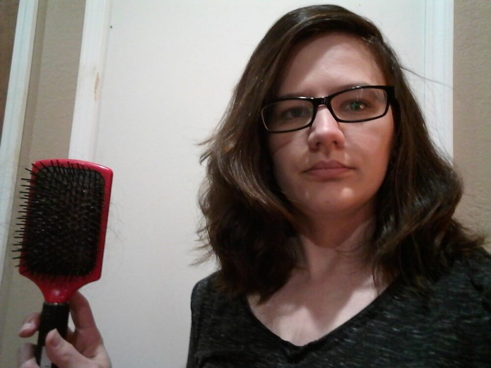 Why you shouldn't brush wavy hair
