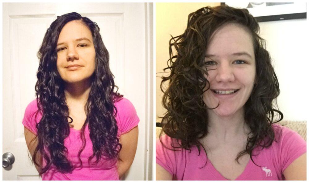 hair cut for added volume