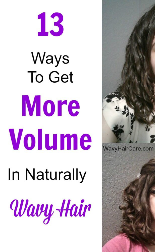 13 ways to get more volume in naturally wavy hair