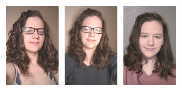 Ogx locking & coconut mousse results
