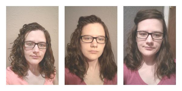 Pantene curls mousse results
