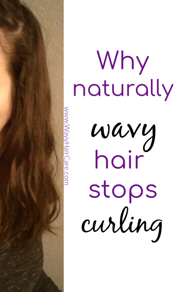 why naturally wavy hair stops curling