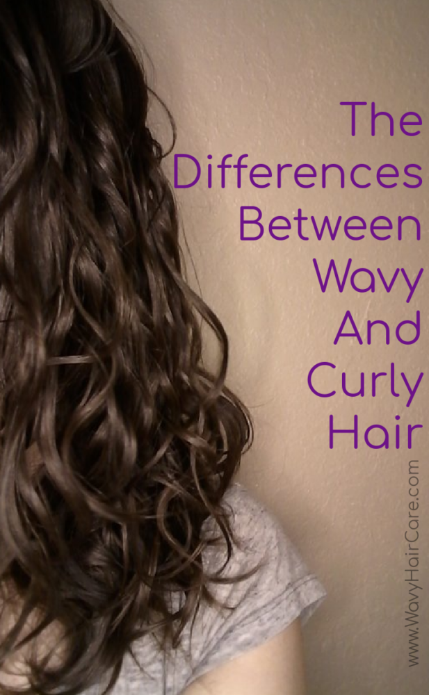 the difference between wavy and curly hair