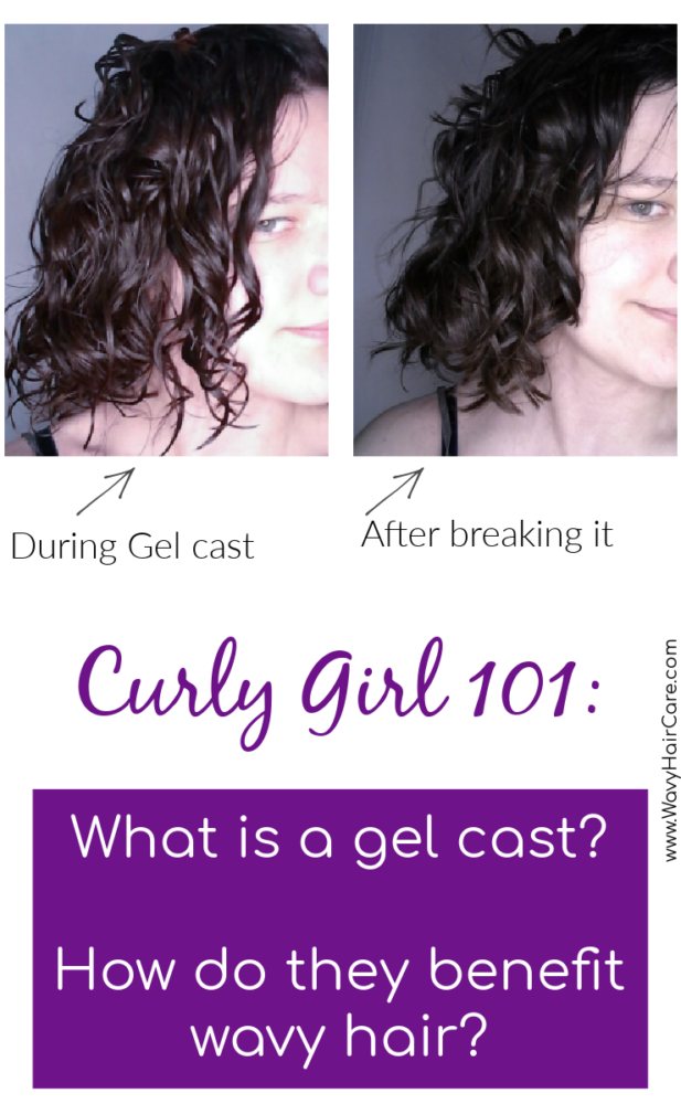 What is a gel cast and how do gel casts benefit wavy hair? #curlygirlmethod