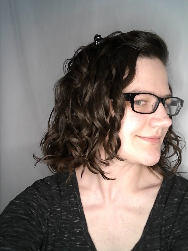 wavy hair plopping