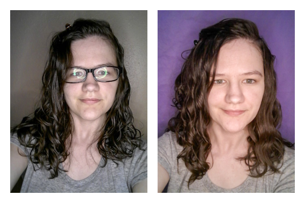 curly girl method upside down or rightside up