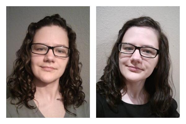 does wavy hair start below the ears?