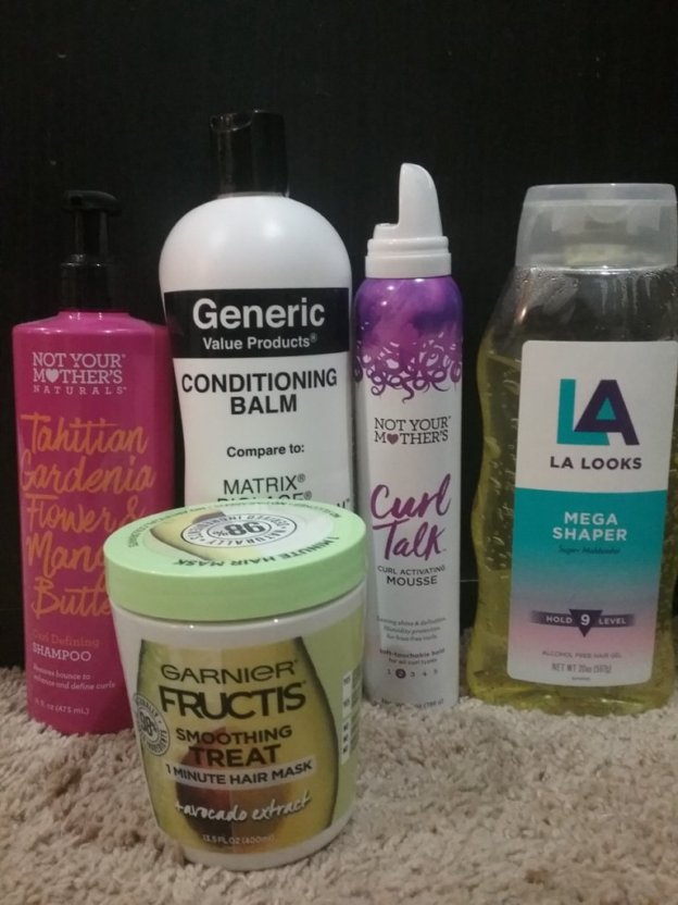 Cheap curly girl approved products for dry wavy hair