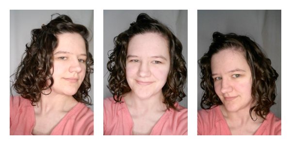 Using the wrong products but the right wavy hair techniques