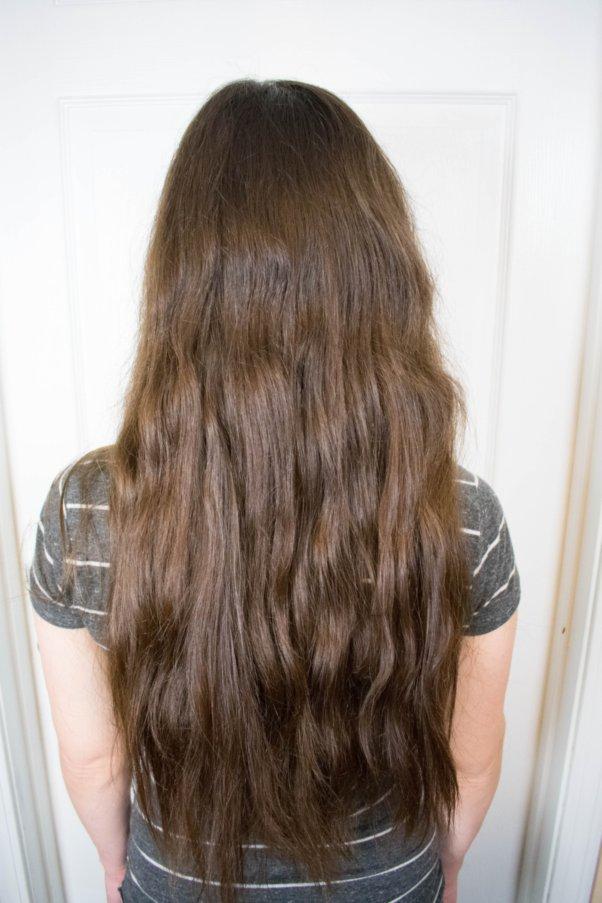 Before curly girl method