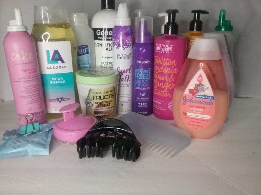 Curly girl favorites for wavy hair