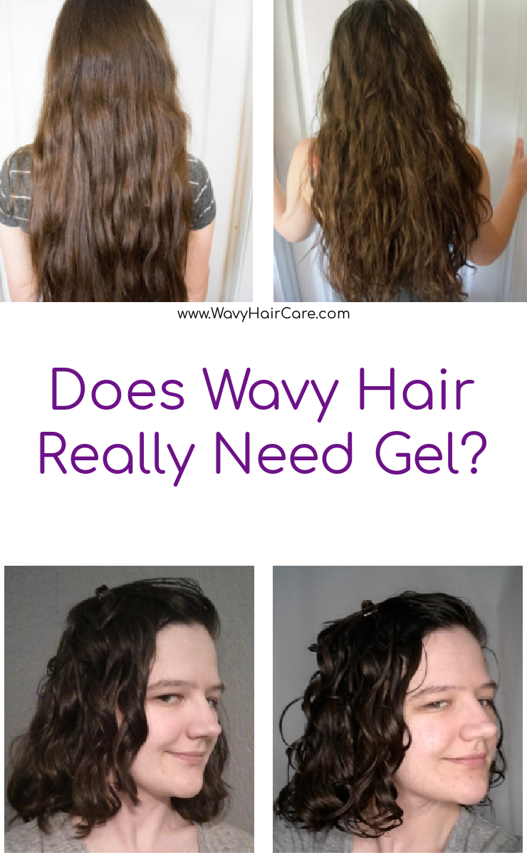 Does wavy hair really need gel in the curly girl method?