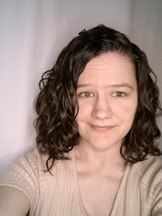 CGm routine for wavy hair