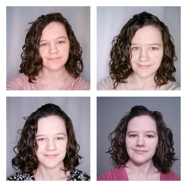 Not Your Mother's curl talk mousse results