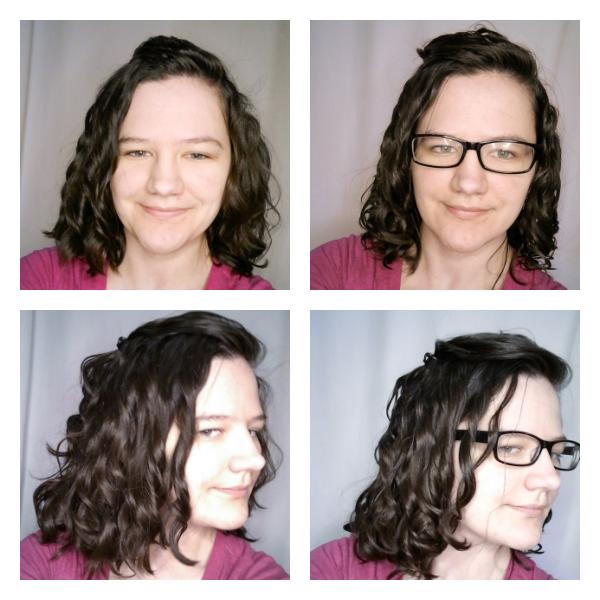 Day 2 wavy hair routine refresh