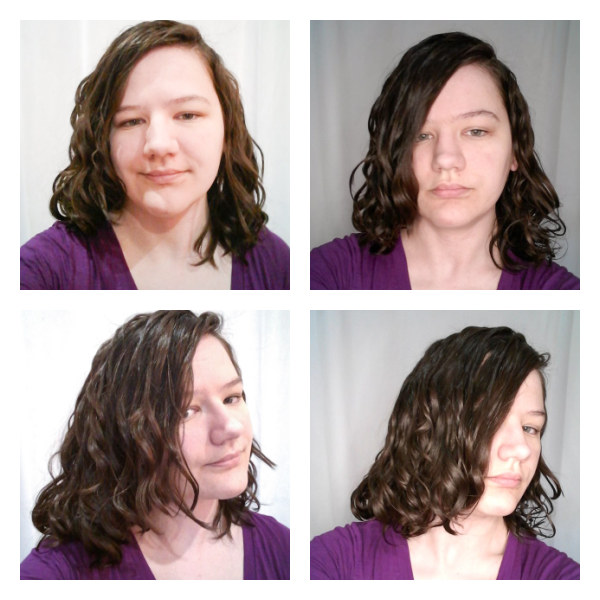 day 3 wavy hair refresh with mousse