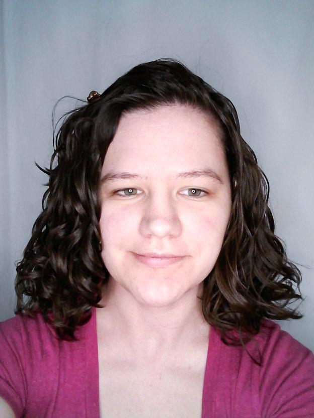 Target starter kit for curly girl method on wavy hair