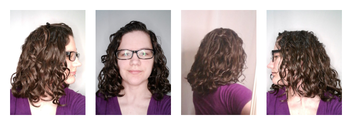 Using just hairspray for hold on naturally wavy hair