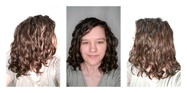 Hammock diffusing wavy hair results