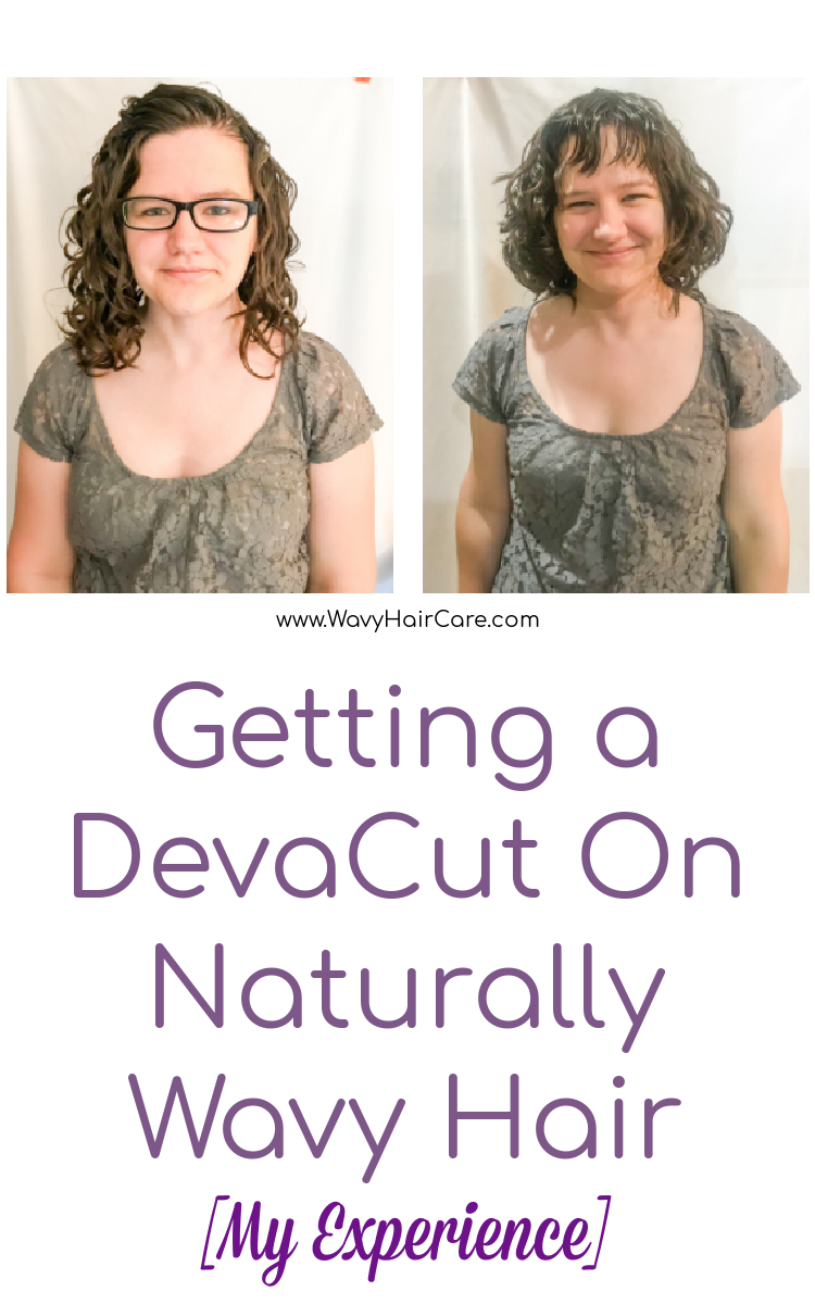 My experience with getting a devacut dry curl haircut on my naturally wavy hair