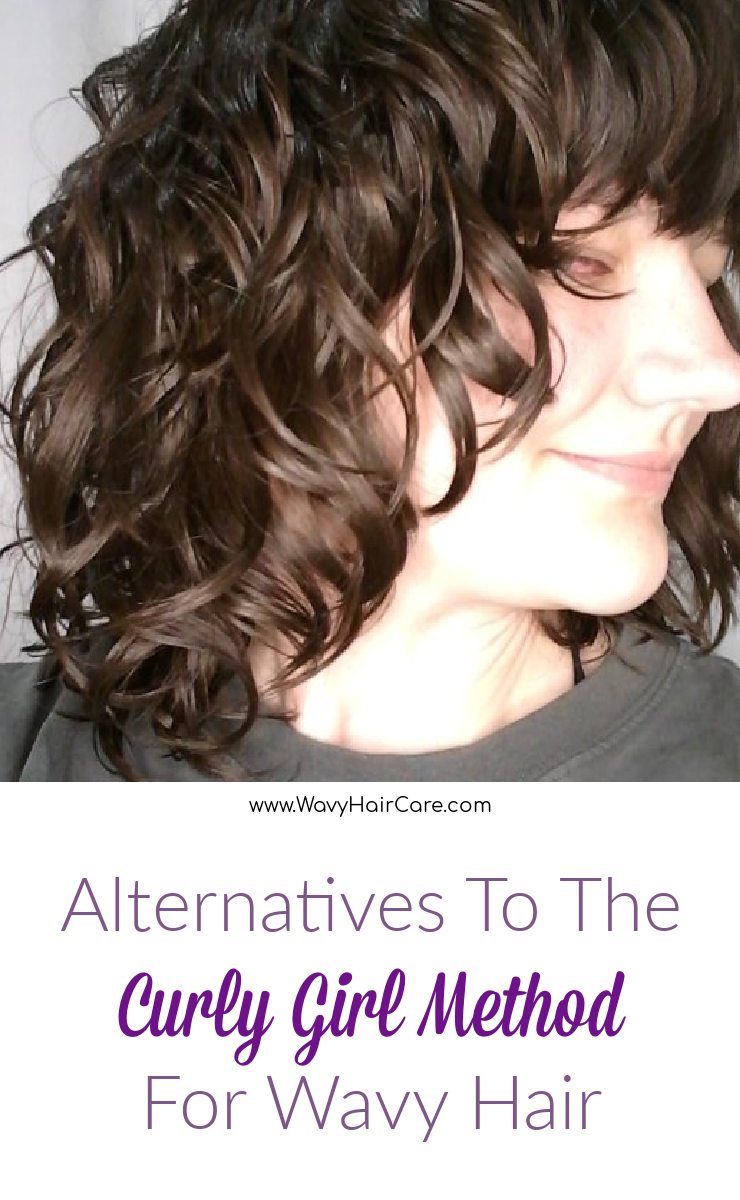 Alternatives to the curly girl method for wavy curly hair