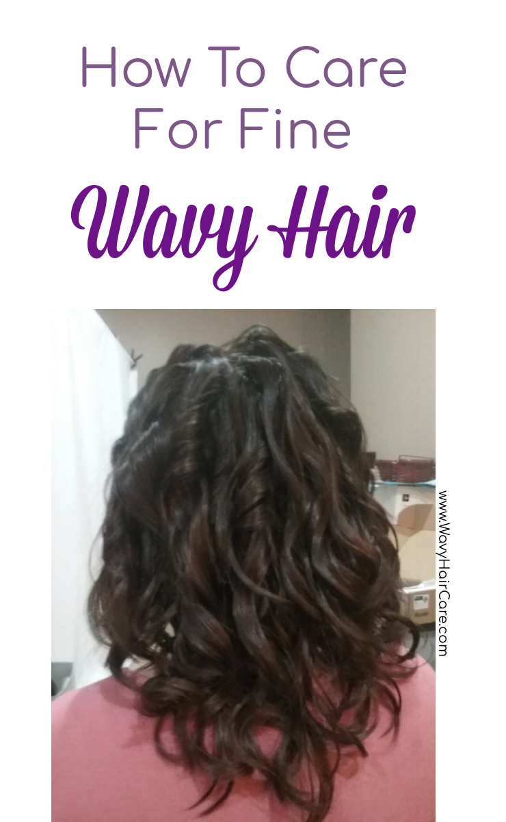 how to take care of fine wavy hair