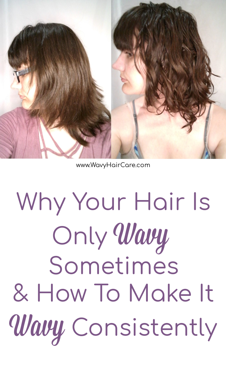 Why your hair is only wavy sometimes and how to make it consistently wavy